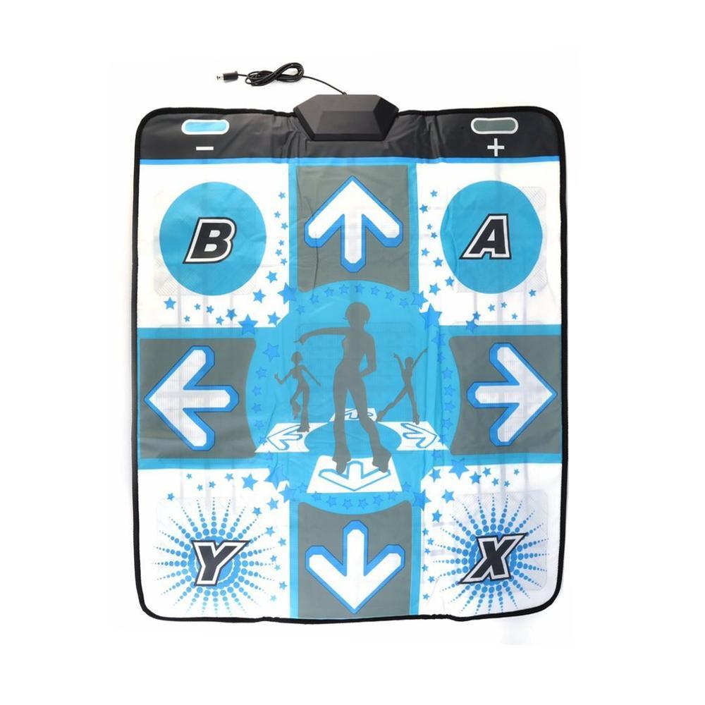 Musical antideslizante danza revolución piso Mat paso almohadillas para Wii