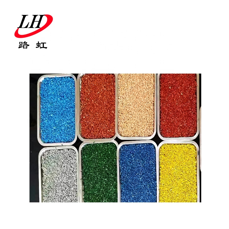anti-rutting agent and other additives are added, the product has some good performances such as economy color asphalt for sale