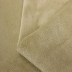 Bedding [ Micro Fabric ] Fabric For Garment 2.5mm Micro Velboa Fabric Dyed Super Soft Velvet For Garment Home Textile