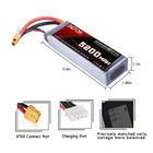 Factory Power Tool Batteries Custom Battery Pack 7.4V 11.1V 14.8V 18.5V 22.2V OEM Lipo Battery Pack