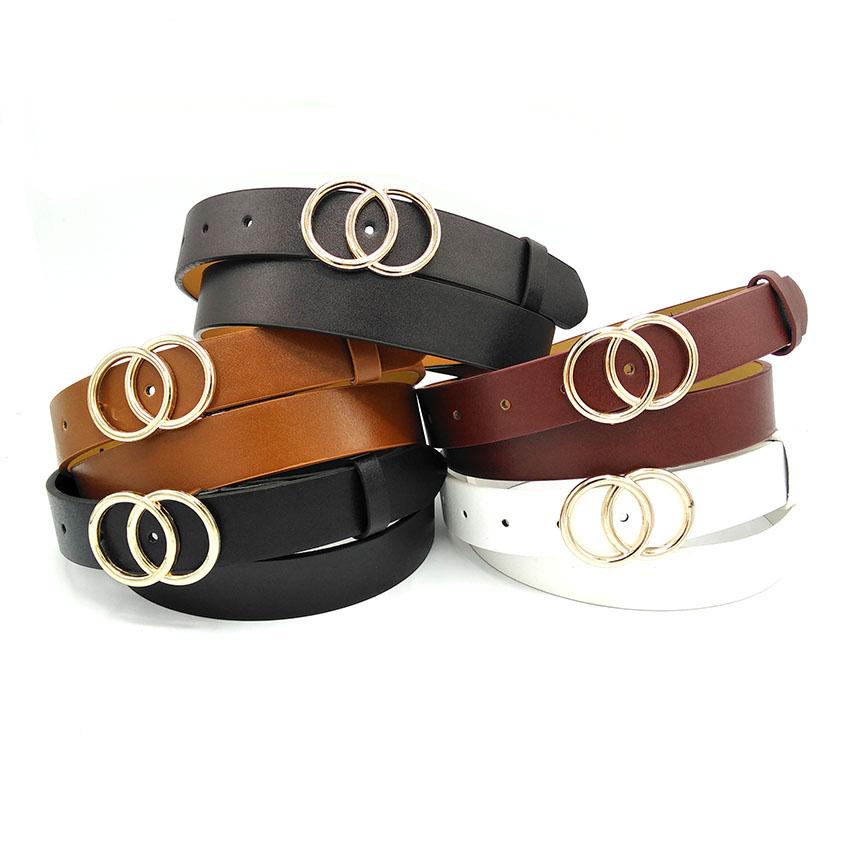 Factory OEM Wholesale Fashion Casual Women Belt Pu Leather Belts