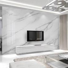 Виниловые обои на заказ, золотые шелковые белые мраморные обои, домашний декор, обои для гостиной, спальни, фон(Китай)