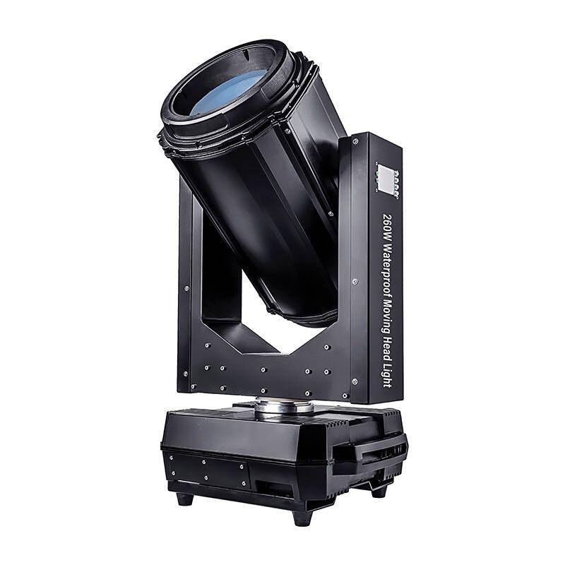 Sky moving head light 260W 9R IP65 Waterproof Outdoor Beam move Light