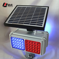 china supplier led solar strobe light with good price