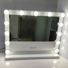 Hollywood Makeup Mirror with Light Bulbs, Hollywood Style LED Vanity Mirror for Dressing Room, Slim Metal Frame Design White