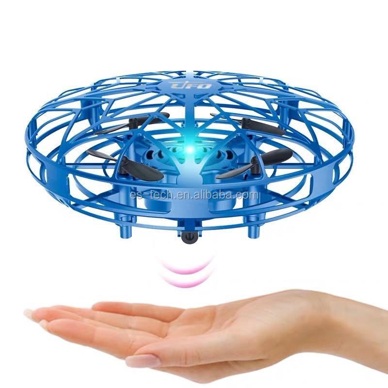 Giáng Sinh Món Quà Mát UFO Drone Tay Hệ Thống Treo Thông Minh Bay Không Người Lái Cho Trẻ Em