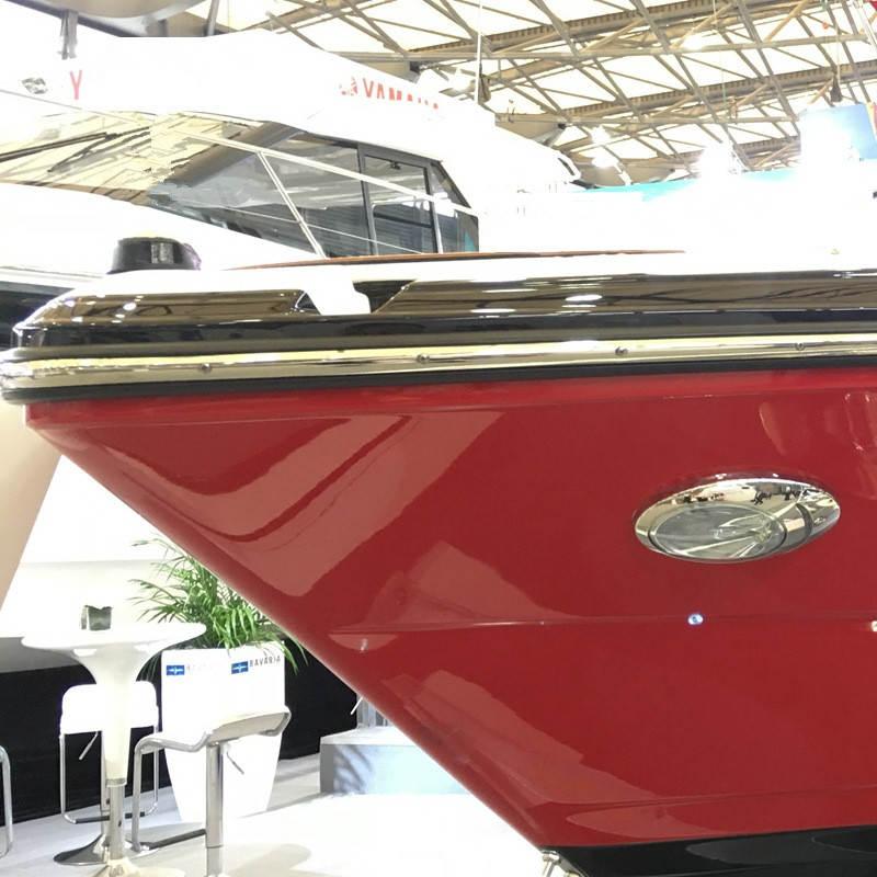ITC 1 PAIR Marine Boat LED Hull Side Surface Mount Docking Lights 69389SS