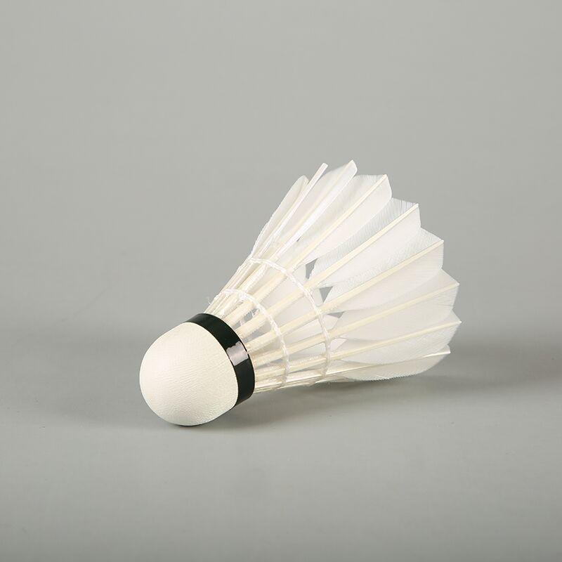 BWF Lingmei 90 высококачественный самый прочный Волан для бадминтона из гусиных перьев