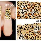 Art Design Thousand Choices Offered 2020 New 3D Nail Art Decoration Accessories DIY Leopard Animals Design Nail Decals Sticker For Nail Salon