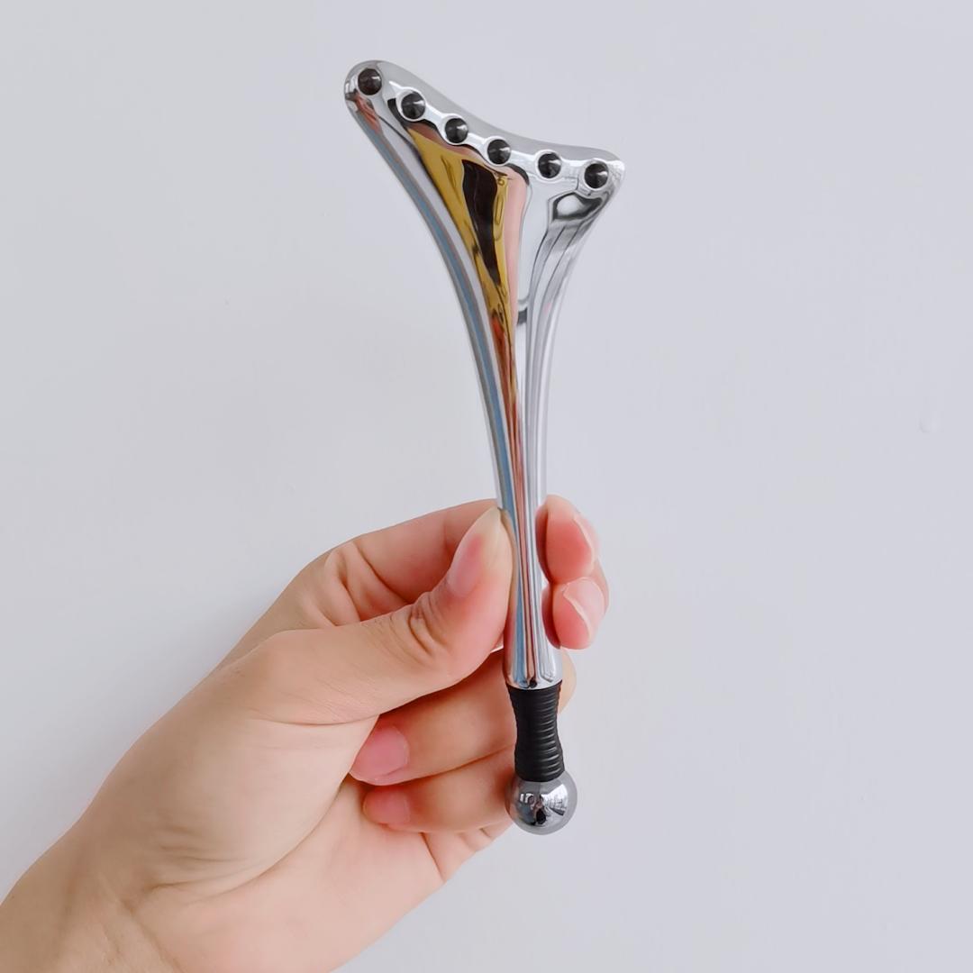 Edecoa-appareil de Massage électrique pour les yeux, dispositif Anti-rides et Anti-vieillissement, avec LED, Rechargeable par USB, nouveau produit, 2020