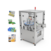 2020 New Supplier Tablet Capsule Pill bottle Cylinder Shaped Tube Vertical Automatic Cartoning Machine