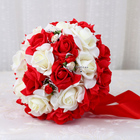 Factory selling artificial flower ball bouquet for wedding