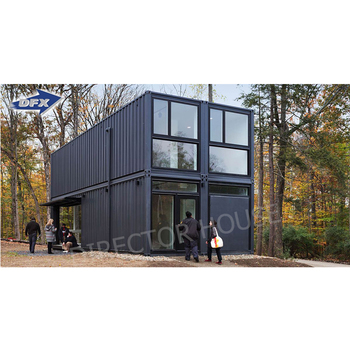 Hot Sell Customized Luxury 20ft 40ft shipping container 2 Bedroom Model Homes Prefab Houses prefabricated Container Office