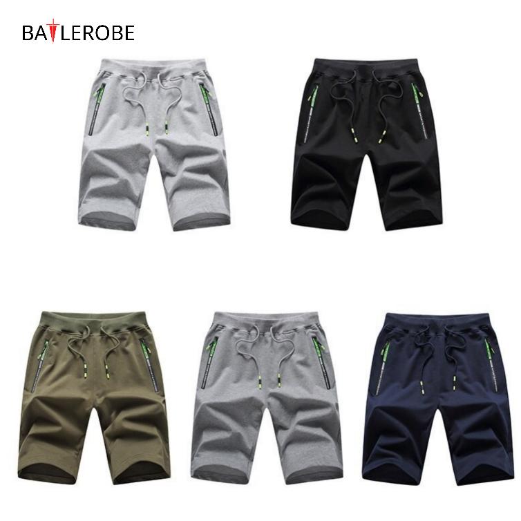 BATTLEROBE Cotone Pantaloncini da corsa degli uomini Per Mens Spandex Poliestere di Sport Allenamento Bicchierini di Estate Per Gli Uomini da jogging jogger