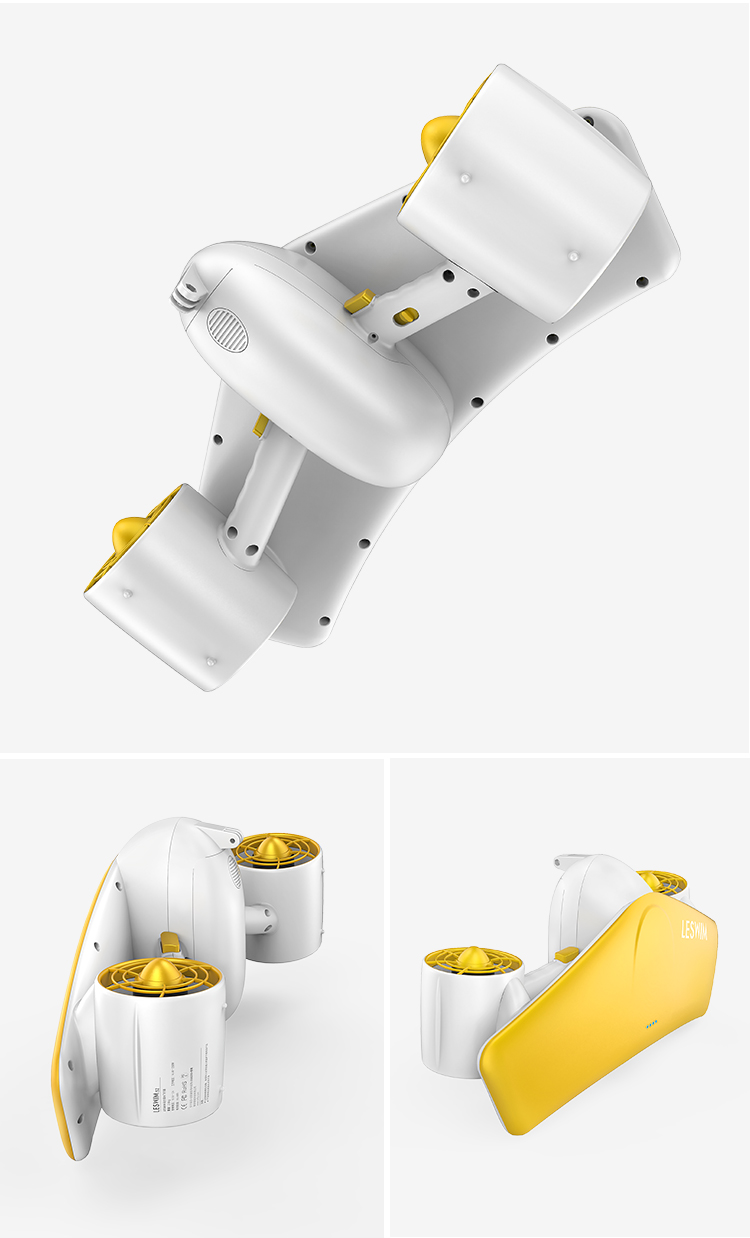 Manke Cheap Price Best Quality New Dual engines Swimming Diving Electric Propeller Board