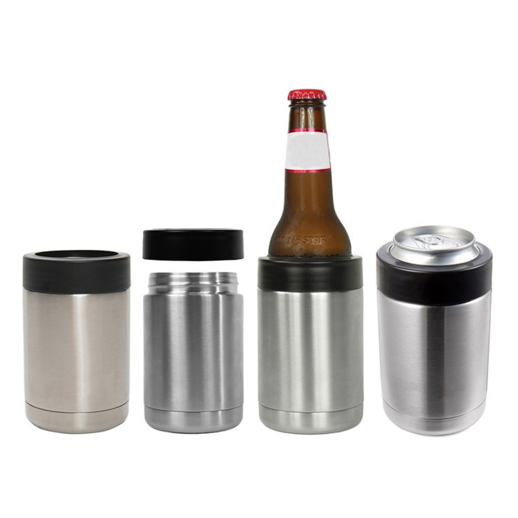 Promotional Double Wall Stainless Steel Can Cooelr for Sale
