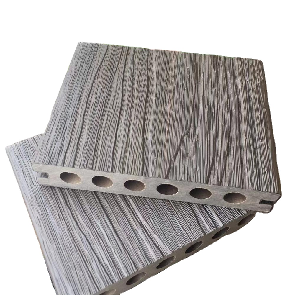 Durable WPC Wood Plastic Composite laminate Extrusion Technology Outdoor Co Extrusion Decking Flooring