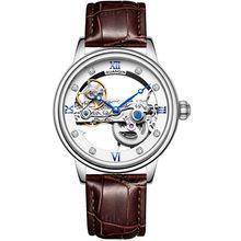GUANQIN, новинка 2019, мужские часы, Топ люксовый бренд, автоматические светящиеся мужские s часы, полые турбийоны, водонепроницаемые механически...(Китай)