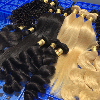 Alimina original brazilian human hair, top double drawn remy full cuticle clip hair extension, unprocessed 100 virgin hair