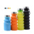 600ML Customized Silicone Travel Camping Outdoor Collapsible Reusable Sports Plastic Drinking Water Bottle