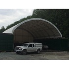 Ready-to-ship 40ft Container Canopy PVC fabric Steel Frame Shipping Container Shelter Tent Roof