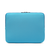 cheap13 inch 14 inch 15 inch colourful Nylon Neoprene laptop bag With zipper sleeve laptop bag