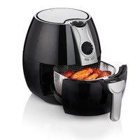 2019 New Design Adjustable Thermostat Control Non-Stick Cooking Surface Oil Free Air Fryer Use For Home