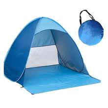 Zon <span class=keywords><strong>Onderdak</strong></span> Outdoor Camping Tent 2-3 Persoon Automatische Instant Waterdichte Pop Up Tent