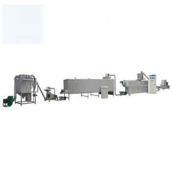 Big capacity twin screw extruder stainless steel Modified starch denaturated starch converted starch making machine