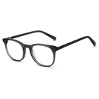 Popular Women Men Full Acetate Frames Hot-sale Ac Lens Spectacles Protection Hand Made Eyewear Transparent Optical Frames