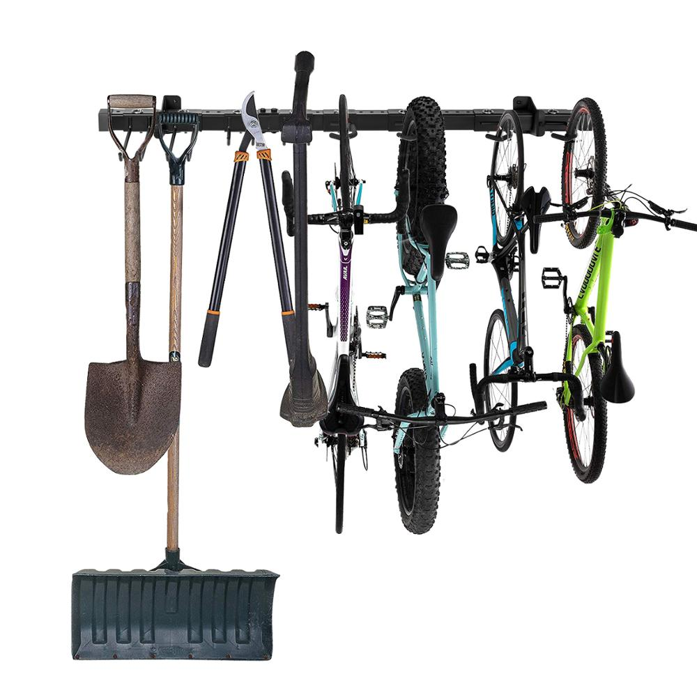 OEM folding Adjustable Wall mount <strong>Holders</strong> for Tools, Garage Organizer, Garden Tool Storage Rack