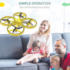 2019 Kids Toys mini hand sensor control drone watch gesture control hands free rc gravity drone with light
