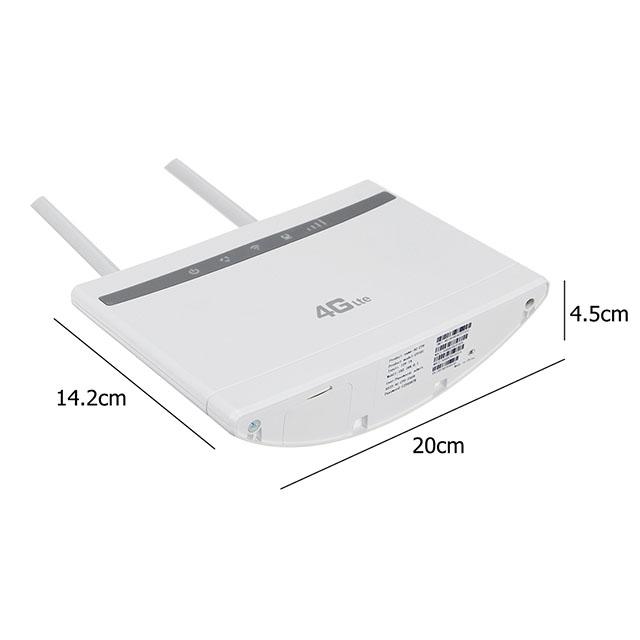 Mở Khóa Huawei B525s-65a 4G LTE Mèo 6 300Mbps CPE Router B525 Router Không Dây