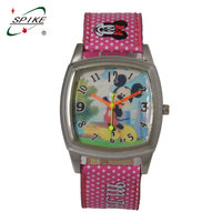 Waterproof kids custom watch mickey mouse watches