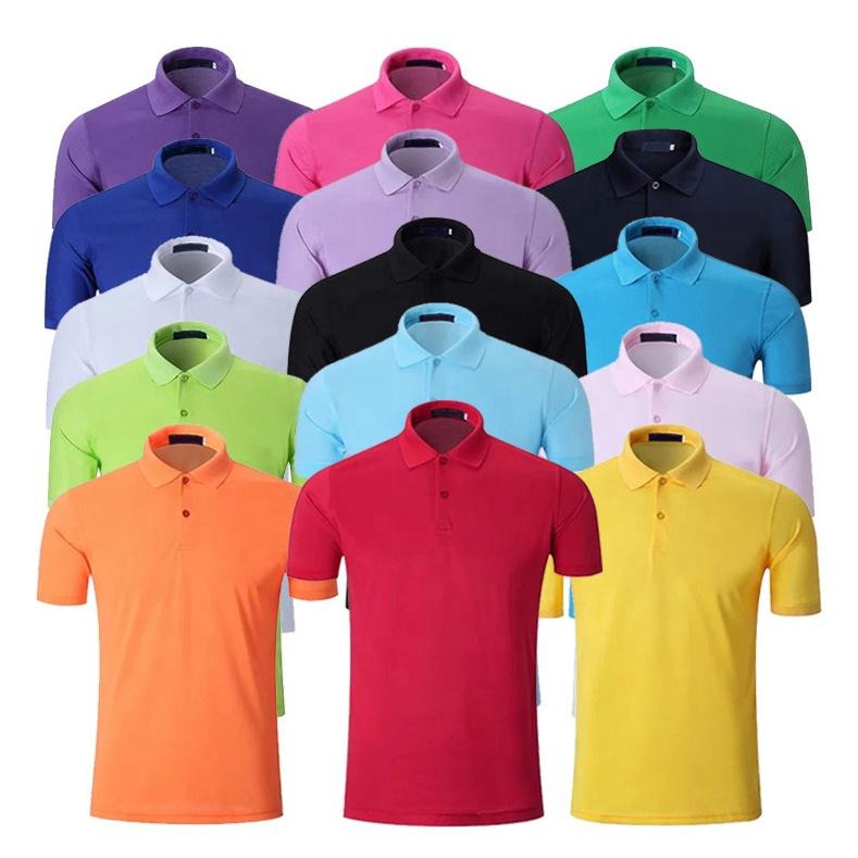 Großhandel OEM unisex polo-shirt, leere sport dry fit bedrucken logo design 100% baumwolle pique plain mens golf polo t shirts