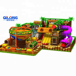 Wood Series Kids Indoor Play Ground Children Playground Equipment