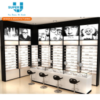 Optical Shop Showcase Interior Design Furniture Equipment Decoration