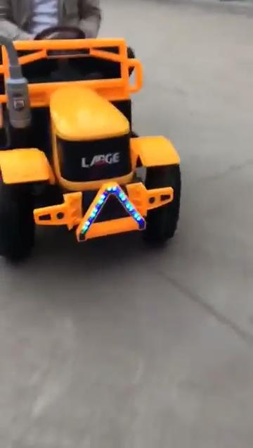 Neue traktoren für kinder/fahrt auf auto spielzeug für kinder/fernbedienung baby auto
