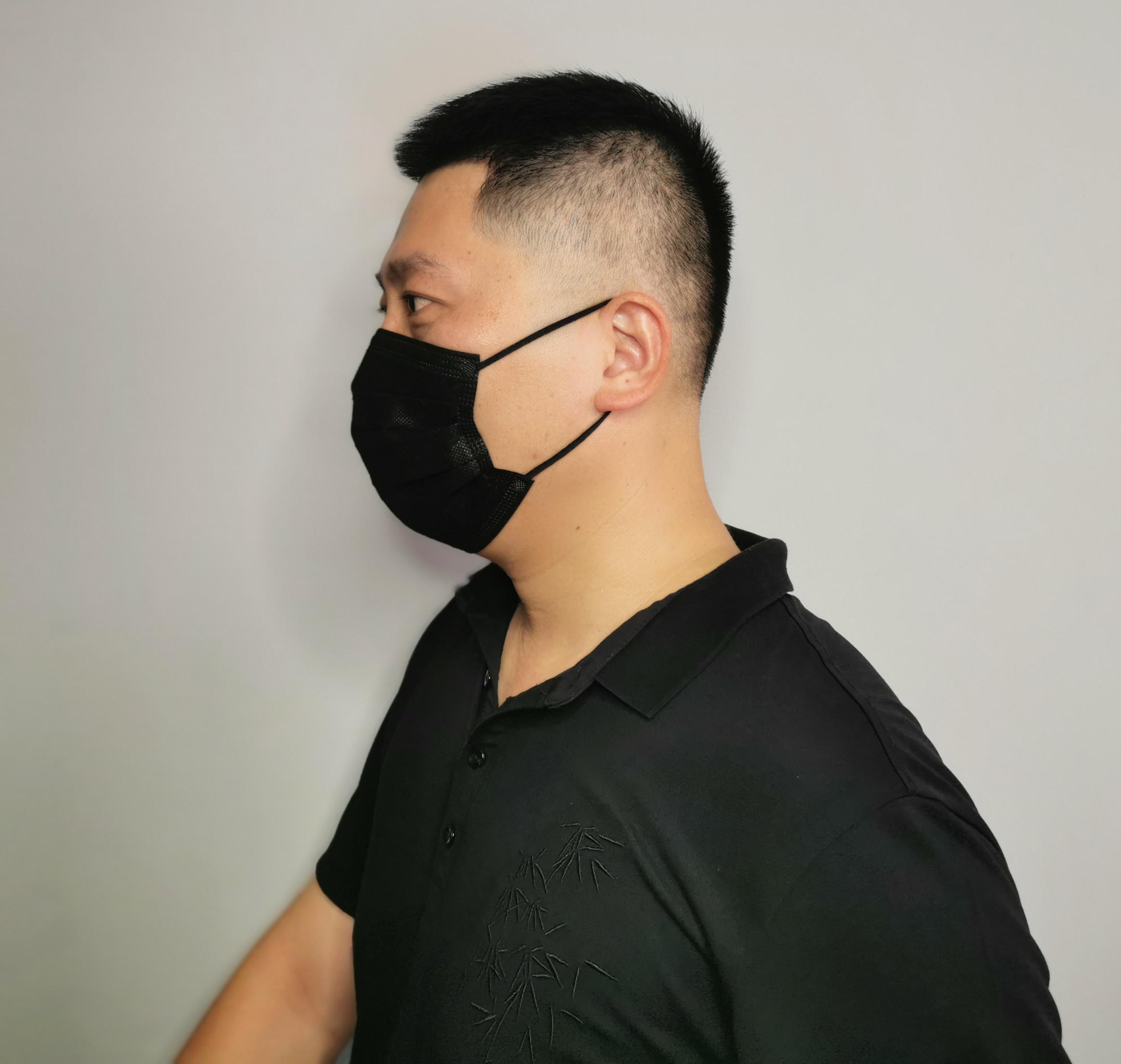 black mask medical black disposable mask disposable face mask black