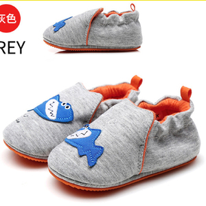 Newborn Baby Walking Shoes Cartoon Cotton Baby Girls Shoes Cute Child Kids Casual Canvas Cheap Wholesale China Factory