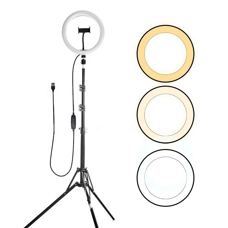 10inch 26cm Tiktok Makeup Fill Light Photographic Lighting LED Selfie Ring Light