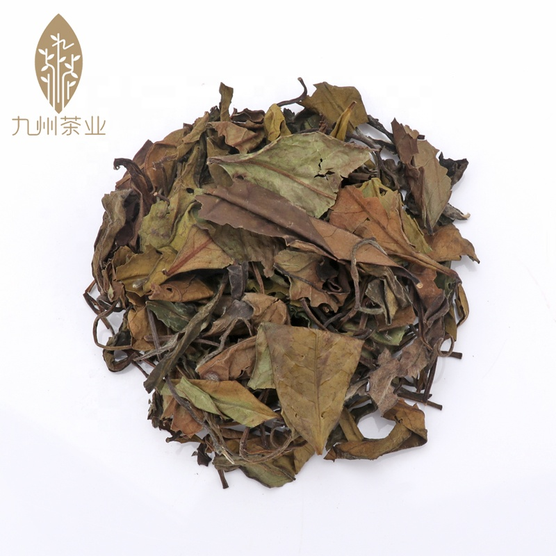 Chinese organic aged loose leaf Gongmei Gong Mei shoumei shou mei Tribute longevity Eyebrow White Tea from Fuding Fujian China - 4uTea | 4uTea.com