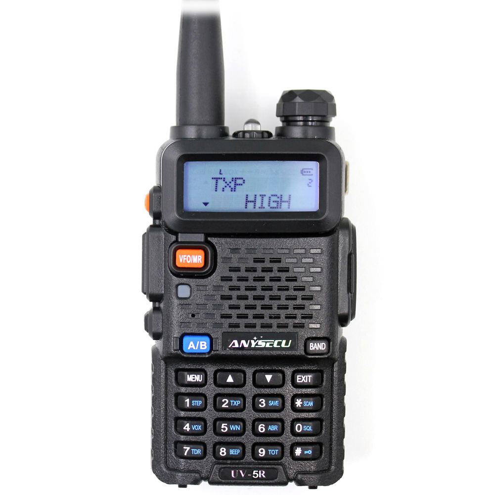 BAOFENG dual band walkietalkie UV-5R 136-174 / 400-520MHz ham transceiver radio <strong>communicator</strong>