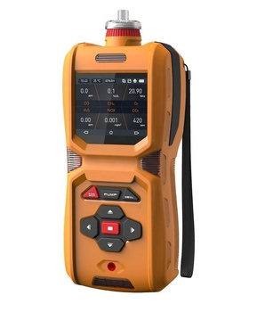 MS600- Six-in-One Gas Detector CO H2S O2 Ex CO2 NOX Portable Multi Gas Analyzer