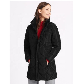 Professional supplier down quilted jacket for women for winter