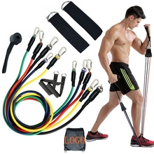B1576 11 pcs <span class=keywords><strong>Widerstand</strong></span> <span class=keywords><strong>Bands</strong></span> Latex Rohr Pedal Körper Home Gym Fitness Training Workout Yoga Elastische Pull Seil Übung Ausrüstung