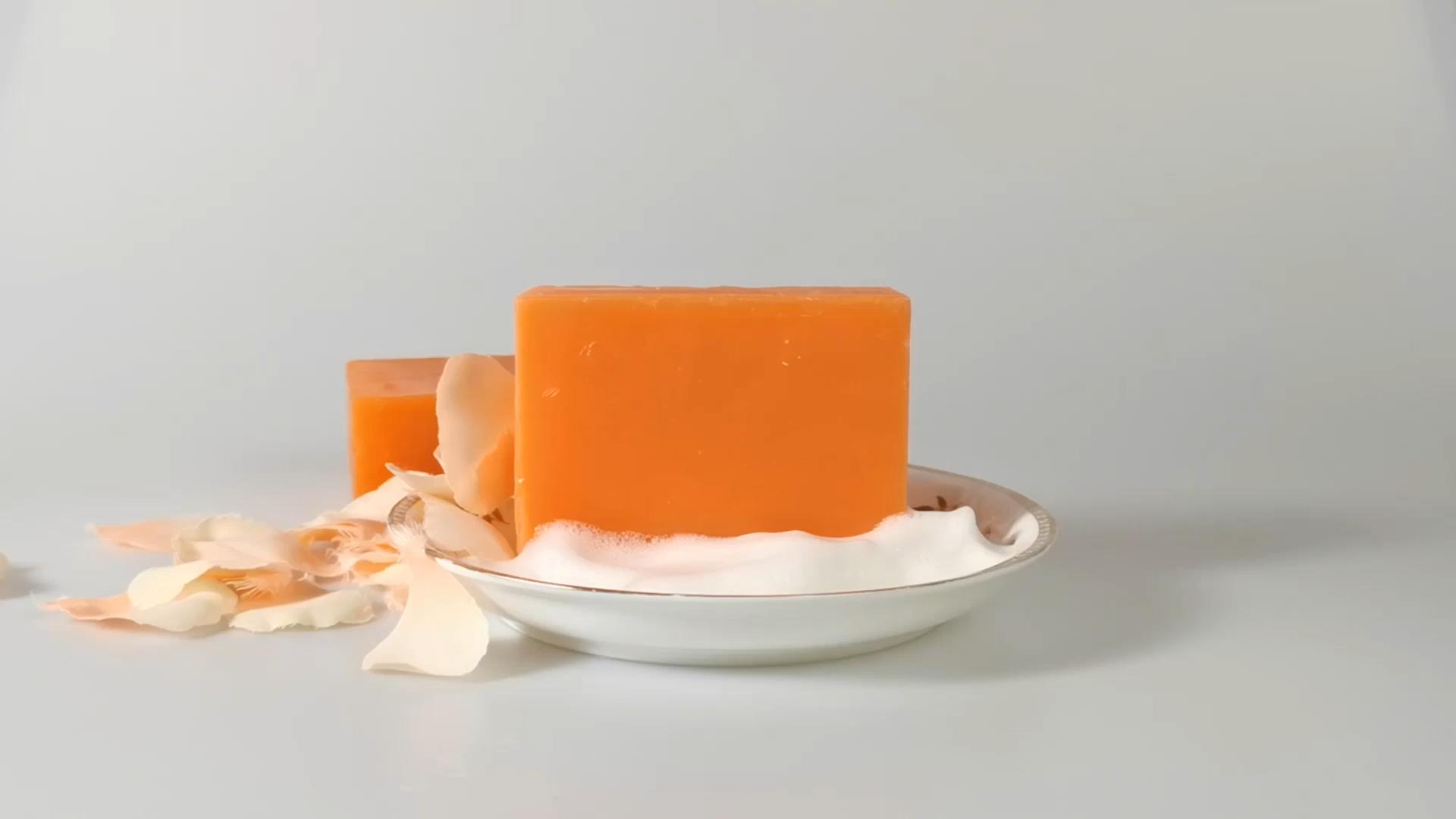 Wholesale Private Label Handmade Organic papaya Whitening Kojic Acid Soap