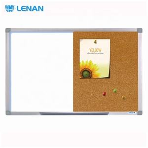 Aluminium frame classroom push pins big size cork boards bulletin notice boards cork board