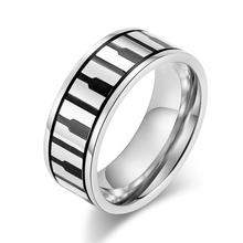 DAICY top kwaliteit fashion rvs band <span class=keywords><strong>piano</strong></span> ring