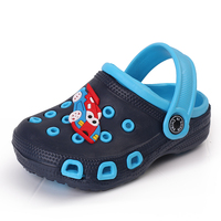Customized durable Children EVA garden clogs shoes sandals slippers kids